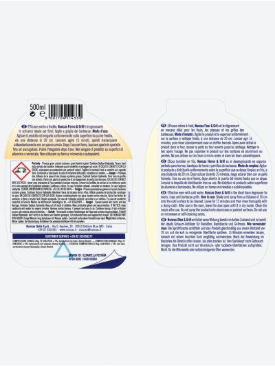Öfen & Grill - Kaltaktives Fettlösemittel