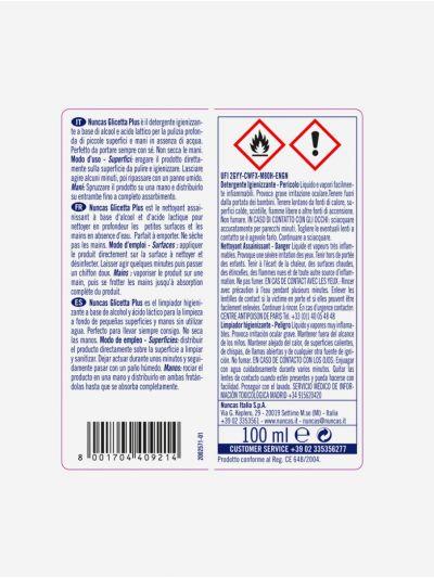 Gel higienizante superficies y manos 100 ml