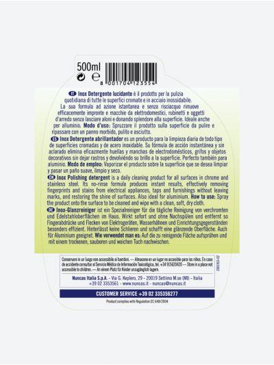 Inox Detergente Abrillantador