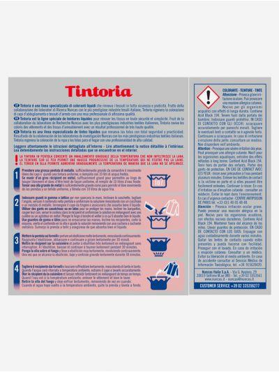 Tintoria Lana, Seda, Nylon Negro