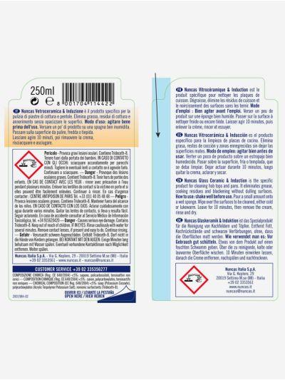 Vetroceramica & Induzione Detergente Delicato