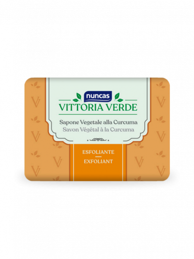 Jabón vegetal exfoliante Vittoria Verde