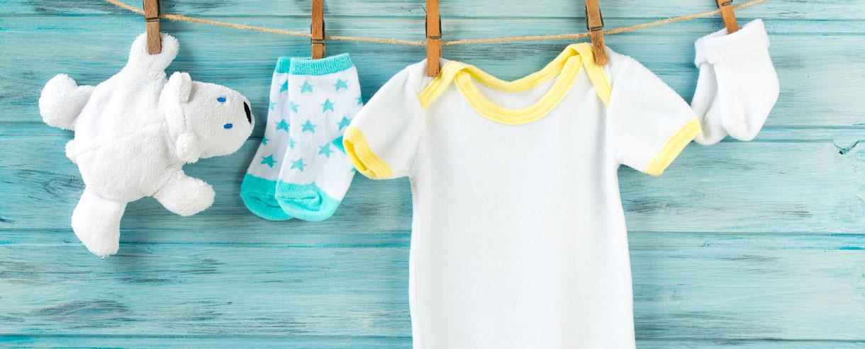 Quando il bucato è formato bebè.